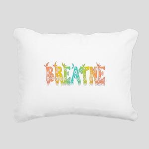 Breathe Easy Rectangular Canvas Pillow