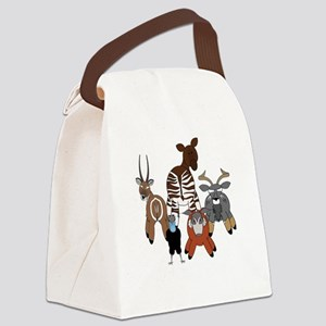 Pembedark2 Canvas Lunch Bag