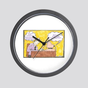 Deleting Emails Wall Clock