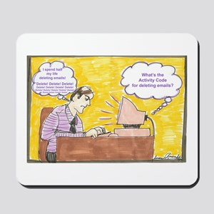 Deleting Emails Mousepad