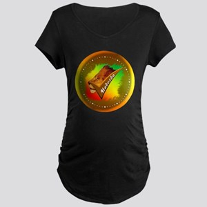 clock right anbesa sign cop Maternity Dark T-Shirt