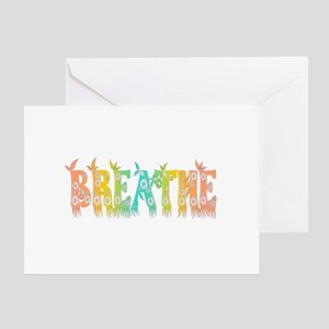 Breathe Easy Greeting Card