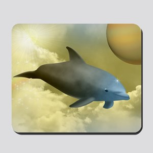 Space Dolphin Mousepad