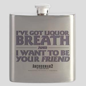 I've Got Liquor Breath Flask