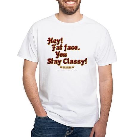 Stay Classy White T-Shirt
