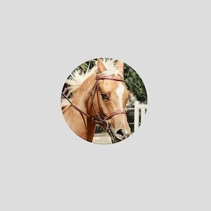 Palomino Pony Mini Button