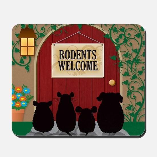 welcomerodents9 Mousepad