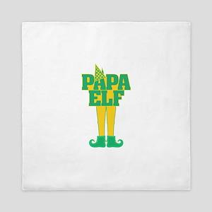 Papa Elf Queen Duvet