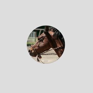 Western Quarter Horse Mini Button