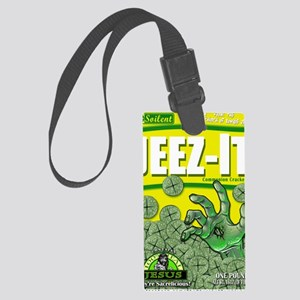 JEEZ-IT Communion Crackers! Large Luggage Tag