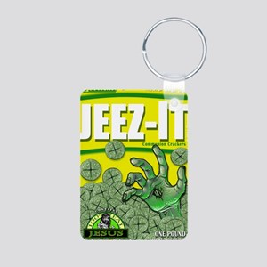 JEEZ-IT Communion Crackers Aluminum Photo Keychain