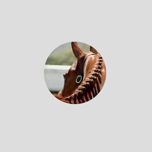 English Horse Braided Mini Button