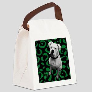 boxer_coaster Canvas Lunch Bag