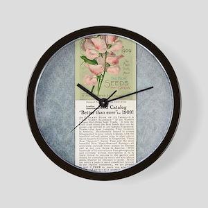 Burpees Farm Annual 1909 Wall Clock