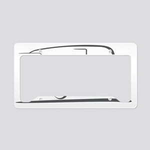 shasta_16_outline_gray_300ppi License Plate Holder