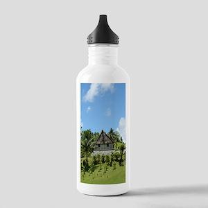 FijiHouse Stainless Water Bottle 1.0L
