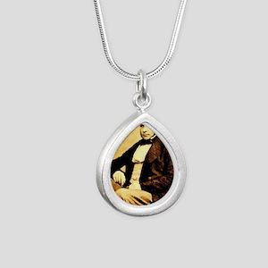 John Snow Silver Teardrop Necklace