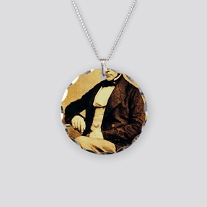 John Snow Necklace Circle Charm