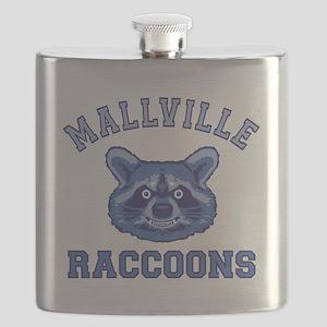 raccoonfacefinal-t-shirt3 Flask