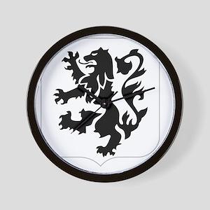 28th_Infantry_Regiment-logo Wall Clock