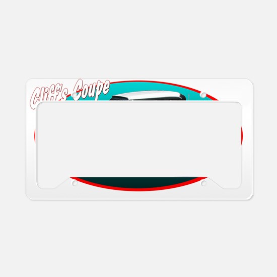 cliffcoup License Plate Holder