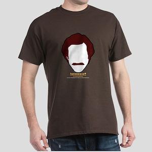 Anchorman Hair Dark T-Shirt