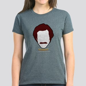 Anchorman Hair Women's Dark T-Shirt