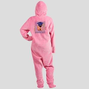 pug gradK Footed Pajamas