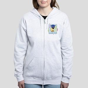 pug gradK Women's Zip Hoodie