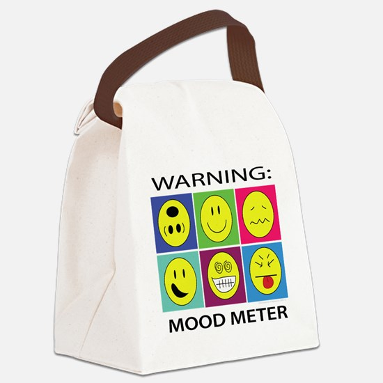 mood meter2 Canvas Lunch Bag