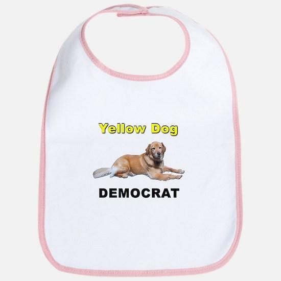 Yellow Dog Democrat Bib