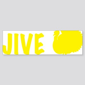 jiveturkey Sticker (Bumper)