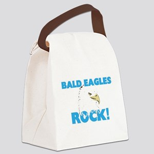 Bald Eagles rock! Canvas Lunch Bag