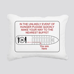 HungerEmergency Rectangular Canvas Pillow