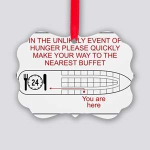 HungerEmergency Picture Ornament