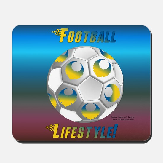 Swede Soccer Lifestyle Mouse Pad