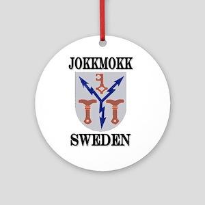 The Jokkmokk Store Ornament (Round)