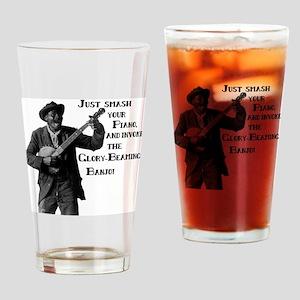 glorybeamingbanjo Drinking Glass