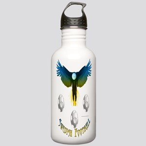 Sweden Soccer Eagle Water Bottle