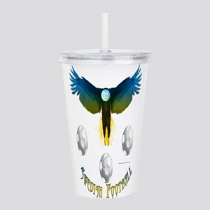 Sweden Soccer Eagle Acrylic Double-wall Tumbler