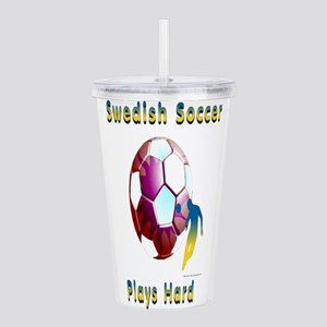 Swede Soccer Sunball Acrylic Double-wall Tumbler