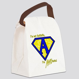 newAWEtistic - transp Canvas Lunch Bag