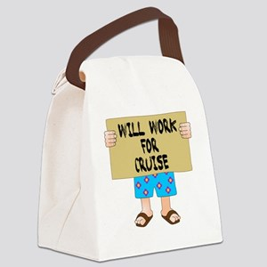 work4cruise Canvas Lunch Bag