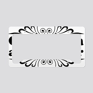 gentlemanblack License Plate Holder