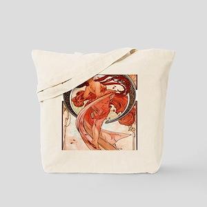 Alfons_Mucha_1898_Dance_78_iPad Tote Bag