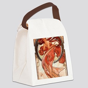 Alfons_Mucha_1898_Dance_78_iPad 2 Canvas Lunch Bag