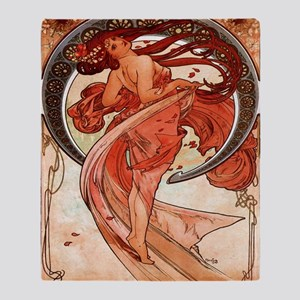 Alfons_Mucha_1898_Dance_78_iPad 2 Throw Blanket