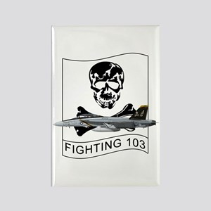 VFA-103 Jolly Rogers Rectangle Magnet