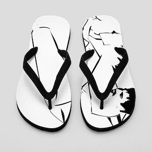 armlock outline Flip Flops