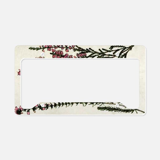 Heath and Heather Ling License Plate Holder